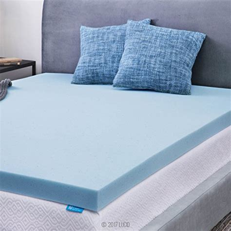 Xl Gel Memory Foam Mattress Topper by Save 30 Lucid 3 Inch Gel Memory Foam Mattress Topper