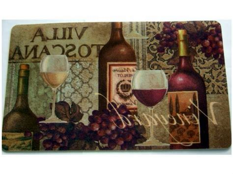 Kitchen. Wonderful Best Kitchen Rugs for Your Home: Wine