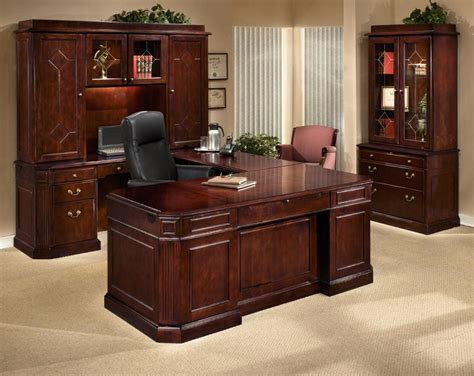 executive desk and hutch set executive office furniture sets countryside amish