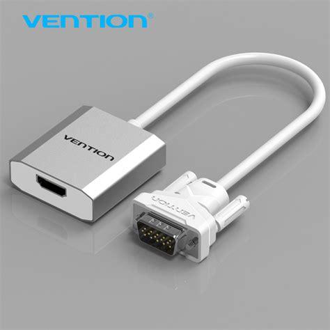 Hdmi To Vga Converter Adapter Non Audio vention vga to hdmi converter cable adapter with audio