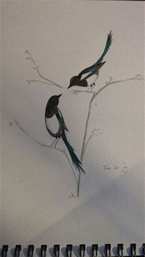tiger tattoo queenstown pair of magpies by chloe mayes at white tiger tattoo