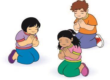 Child Praying Clipart
