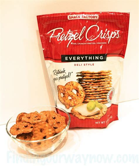 Snack Factory Pretzel Crisps Sesame 204 Gr pretzel crisps snack factory product review finding our way now