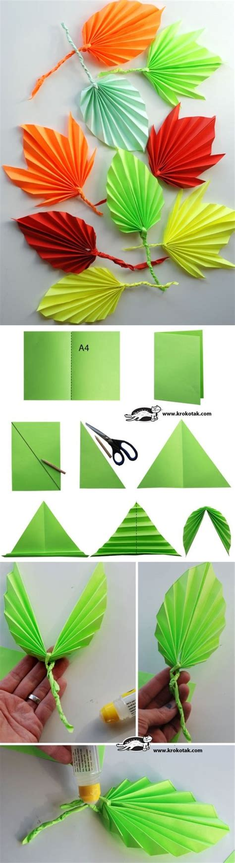 Paper Leaf Craft - the world s catalog of ideas