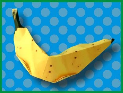 Origami Banana - joost langeveld origami page