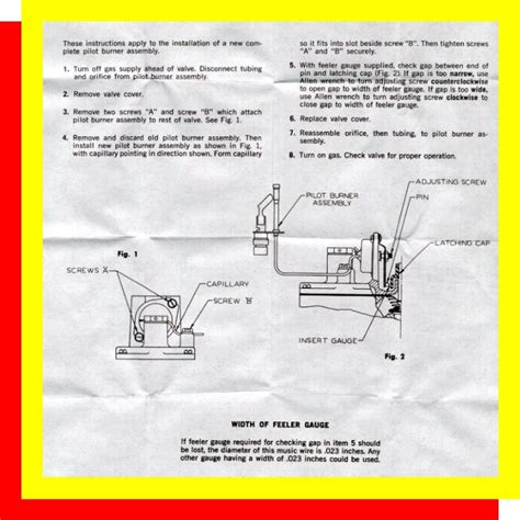gas dryer pilot light dryer pilot light help appliance aid