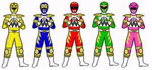 power ranger names and colors cyborg s power rangers