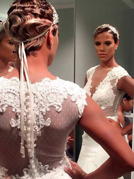 wedding hairstyle with finger wave african american 31 wedding hairstyles for short to mid length hair page