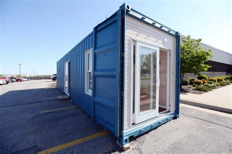 tiny container kirkwood students build container tiny house