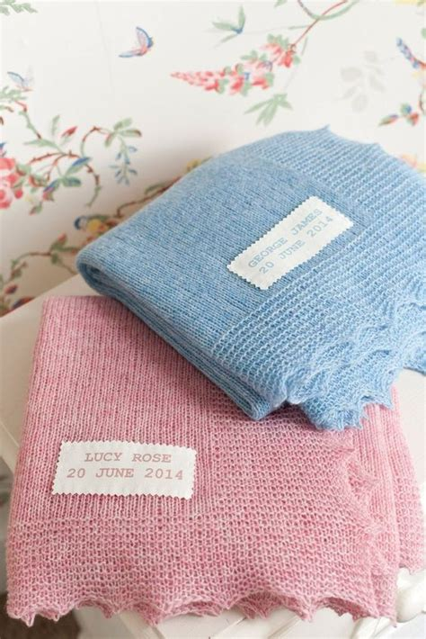 Garter Stitch Baby Blanket Pattern by These Lovely Easy Baby Blankets Are Knitted In One