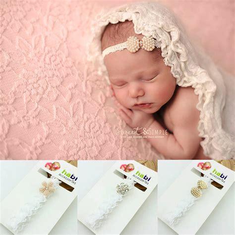 1 pieces new 2016 fashion baby headband rhinestone lace 1piece new 2015 fashion born infant baby princess lace