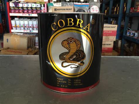 Thiner Cobra jual thinner cobra highgloss harga murah kendari oleh toko cat wiljaya colour