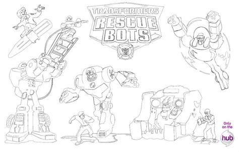 printable coloring pages rescue bots rescue bots printable rescue bots pinterest rescue