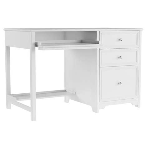 White Desk by Home Decorators Collection Oxford White Computer Desk
