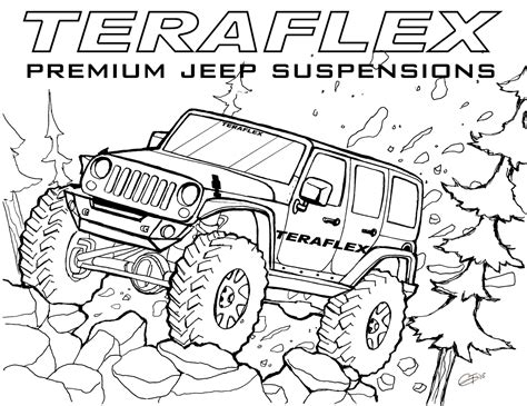 jeep coloring pages coloring pages jeep coloring pages