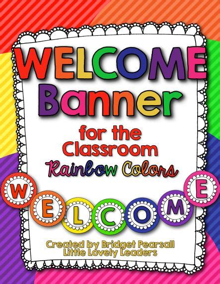 printable welcome banner for classroom 25 best ideas about welcome banner on pinterest welcome