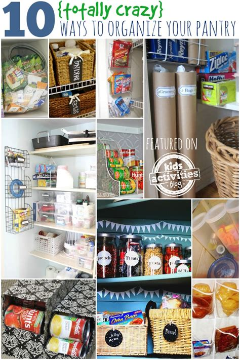 Organize Your Pantry by 10 Unconventional Ways To Organize Your Pantry