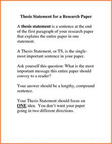 Essay Thesis Statement Exle by 7 Thesis Statement Exles For Essays Marital Settlements Information
