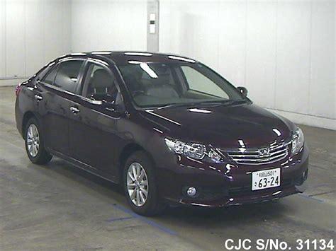 Toyota Allion 2012 Fuel Consumption 2012 Toyota Allion Wine For Sale Stock No 31134