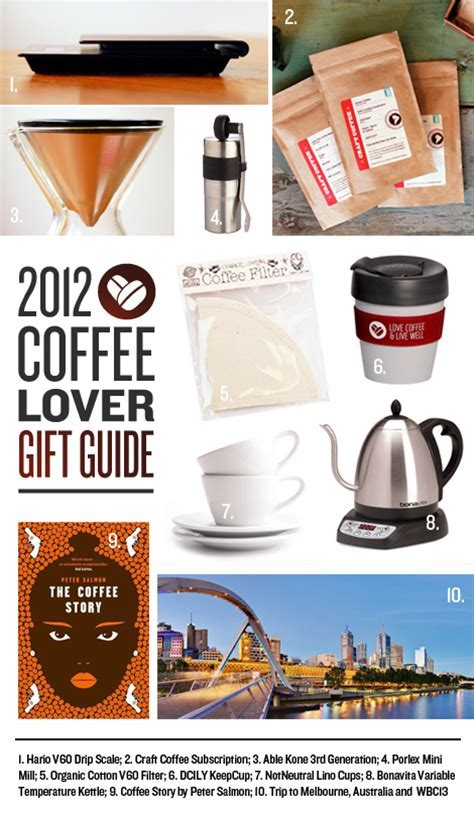 DCILY?s Coffee Lover Gift Guide 2012 ? Dear Coffee, I Love