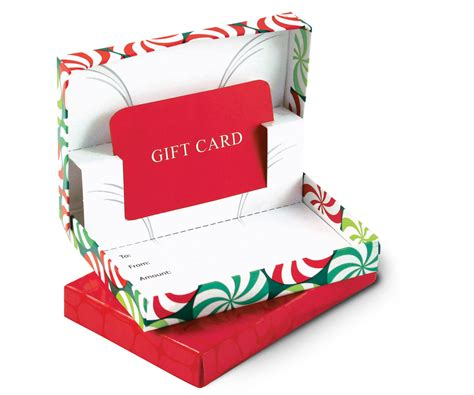 Christmas Gift Card Boxes - gift card boxes retail presentation boxes for all gift cards