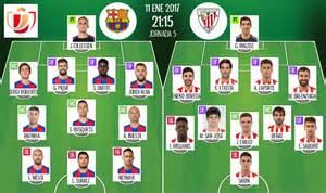 les compos officielles du match de coupe du roi barcelone