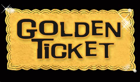 golden ticket template images