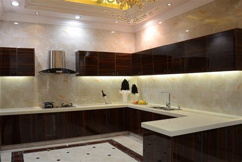 interior decoration of kitchen modern minimalist villa kitchen interior design