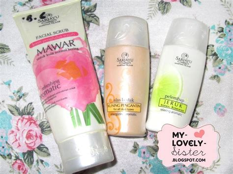 Scrub Jerawat Sariayu my lovely a with review sariayu martha