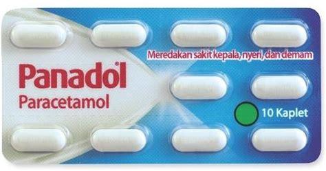 Panadol Biru Paracetamol Meredakan Sakit Kepala Nyeri Demam Dosis Efek Sing Manfaat Panadol Obat Penurun Panas