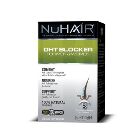 can foods and vitamins stop dht livestrong review of nu hair dht blocker formula hair solution center