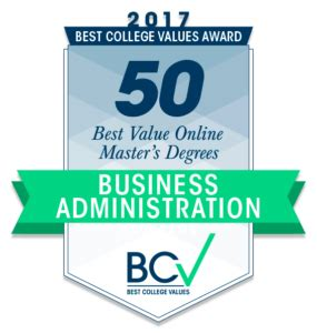 Best Value Inline Mba by 50 Best Value Masters Of Business Administration