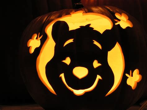 Winnie The Pooh Pumpkin Carving Templates pumpkin carving templates