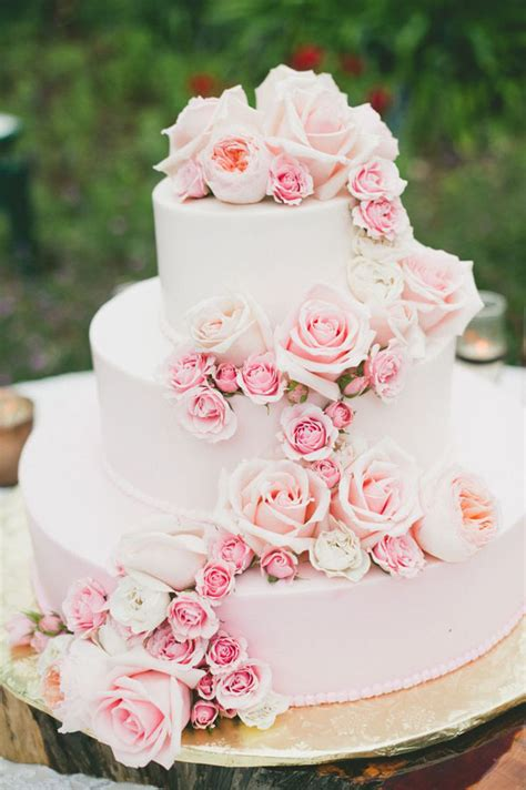 Hochzeitstorte Pink 28 inspirational pink wedding cake ideas