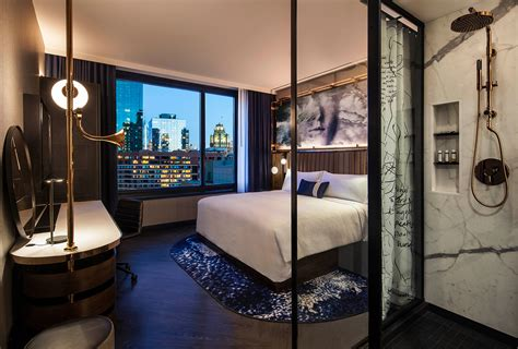 themed hotel rooms il chicago s hotel emc2 has science themed interiors by rockwell