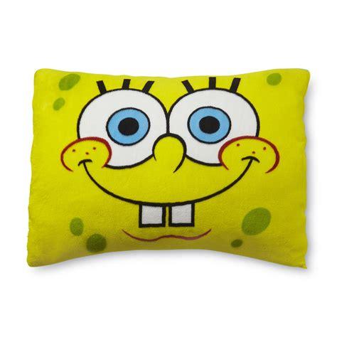 Spongebob Pillow nickelodeon yellow spongebob squarepants pillow shop