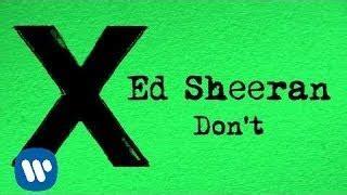 ed sheeran don t mp3 download unedited viyoutube