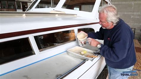 totalboat totaltread  skid marine deck paint youtube