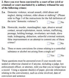 K1 Visa Criminal Record I 129f K1 Fiance Visa Criminal Records Of Petitioners