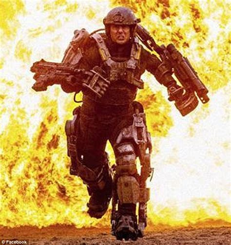 tom cruise first film tom cruise is ready for battle as he sprints through fiery