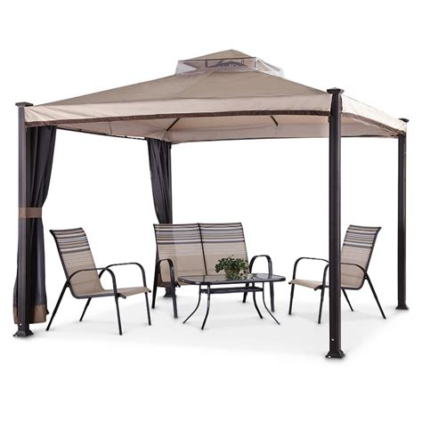 10x10 Deck Gazebo Maker Everton 10x10 Gazebo 622708 Gazebos At
