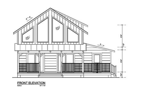 1000 1500 Square Feet Southeastern United States Log 24x30 House Plans