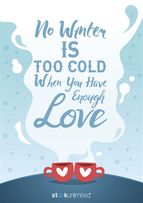 winter quotes winter vectors and quotes stockunlimited