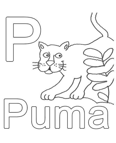 german alphabet coloring pages letter p to print or download for free