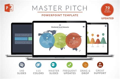 35 Powerpoint 15 Keynote Templates With 1000s Of Charts Infographics Maps Only 29 Free Powerpoint Master Template