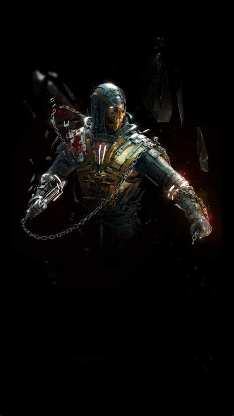 badass wallpapers for android badass wallpapers for android 40 0f 40 the scorpion from mortal kombat hd wallpapers