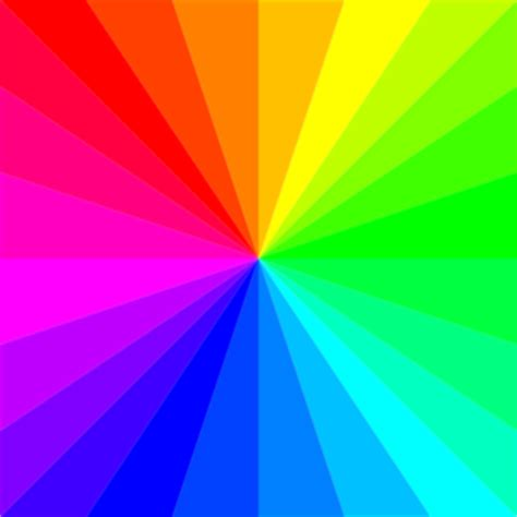 colors band rainbow square clip at clker vector clip