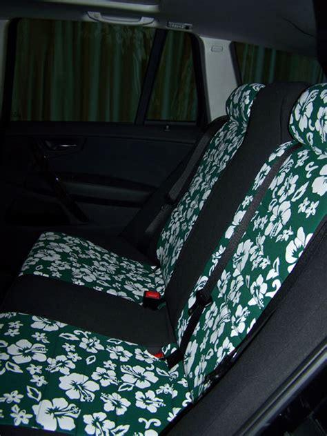 bmw seat covers x3 bmw x3 pattern seat covers rear okole hawaii