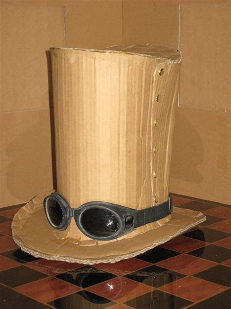 How To Make A Top Hat Out Of Paper - cardboard top hat by karmaadjuster on deviantart