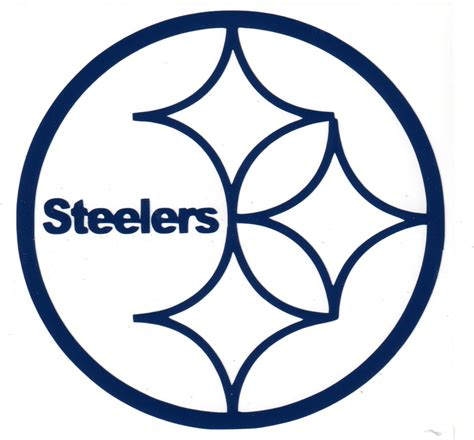 pittsburgh steelers logo google search silhouette free coloring pages